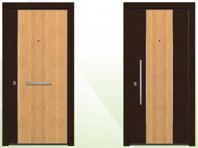 Ξύλινες θωρακισμένες πόρτες SW 5000-6000